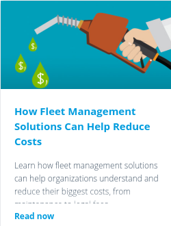 How Fleet Management Solutions Can Help Reduce Costs