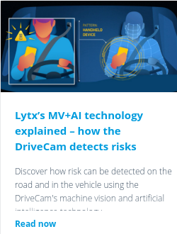 Lytx's MV+AI technology explained – how the DriveCam detects risks