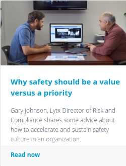 Why safety should be a value versus a priority
