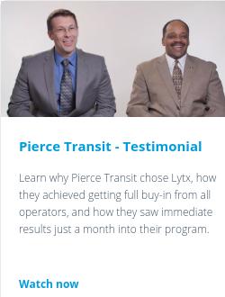 Pierce Transit - Testimonial