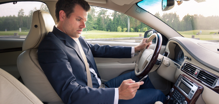 Distracted Driving Awareness: Curbing the Power of Smartphones