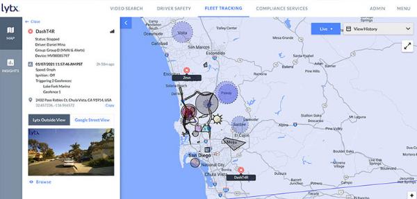 video fleet tracking