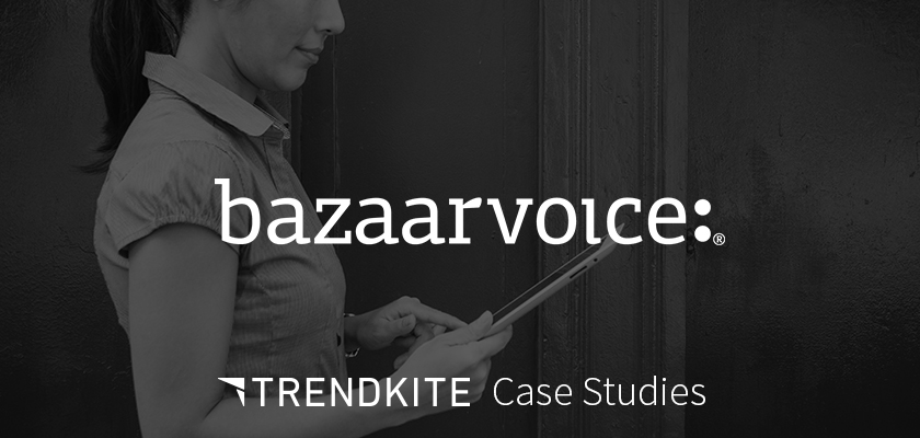 BazaarVoice PR Benchmarking Case Study