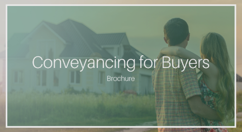 Conveyancing for Buyers [KVV Inc. Complete Brochure]
