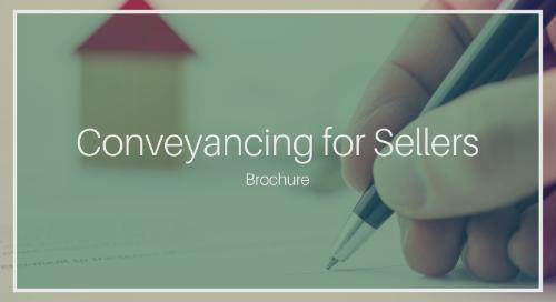 Conveyancing for Sellers [KVV Inc. Complete Brochure]
