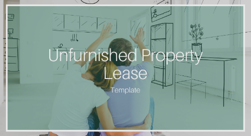 Standard Agreement of Lease for an Unfurnished Property