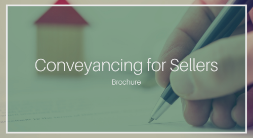 Conveyancing Process for Sellers [Complete Brochure]