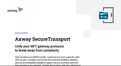 Axway SecureTransport