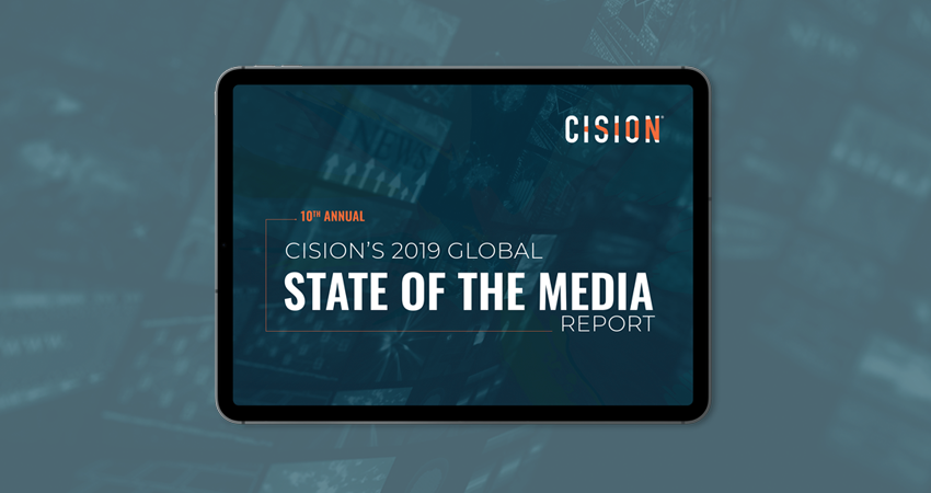 Cision State of the Media Report 2019