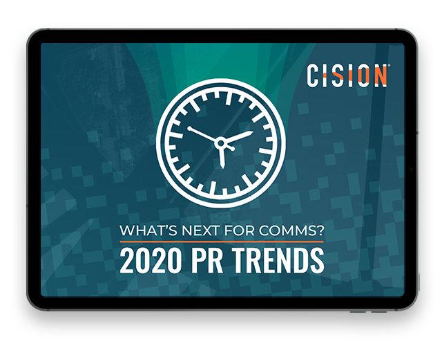 What's Next for Comms? 2020 PR Trends