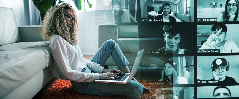Cision's MultiVu virtual events