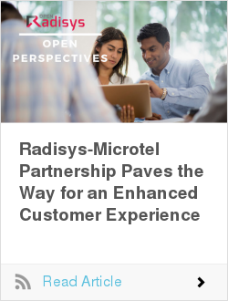 Radisys-Microtel Partnership Paves the Way for an Enhanced Customer Experience