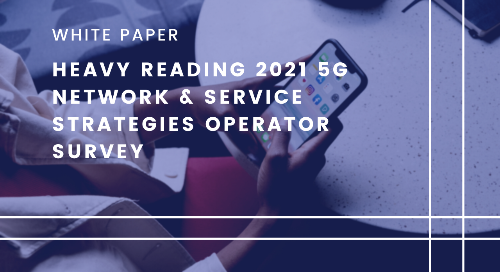 Heavy Reading 2021 5G Network & Service Strategies Operator Survey