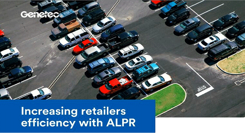 Increasing retailers efficiency with ALPR