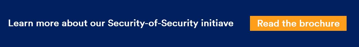Genetec Security of Security initiative 2019