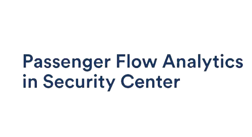 Security Center Passenger Flow Analytics