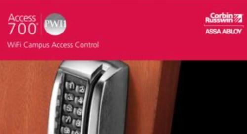 Corbin Russwin Access 700 PWI1 WiFi Campus Access Control