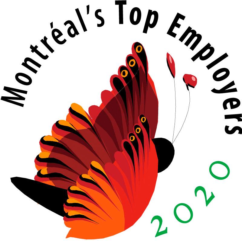 Montreal top employer 2020 - Genetec