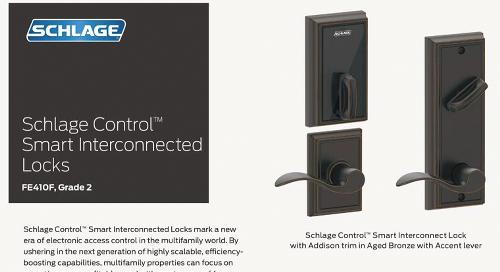 Allegion Schlage Control Smart interconnected locks