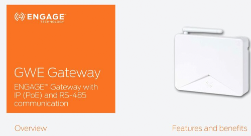 Allegion ENGAGE Gateway