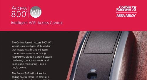 Corbin Russwin Access 800 WI1 WiFi