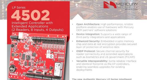 Mercury  EP4502 intelligent controller