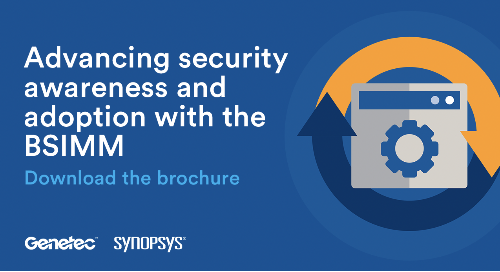 Advancing security awareness and adoption with the BSIMM