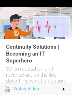 Continuity Solutions | Becoming an IT Superhero