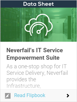Neverfail's IT Service Empowerment Suite