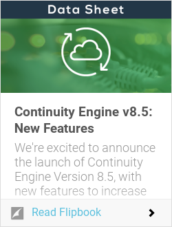 Continuity Engine v8.5: New Features