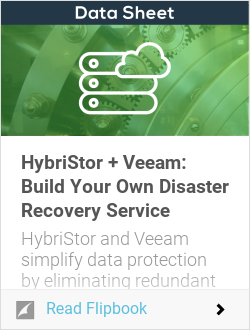 HybriStor + Veeam: Build Your Own Disaster Recovery Service