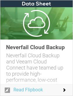 Neverfail Cloud Backup