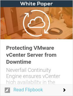 Protecting VMware vCenter Server from Downtime