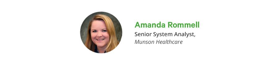 Amanda Rommell at Munson Healthcare