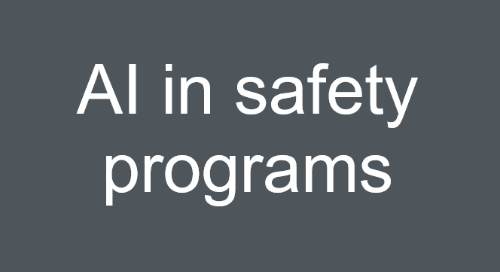 Putting AI to Work in Safety Program Article