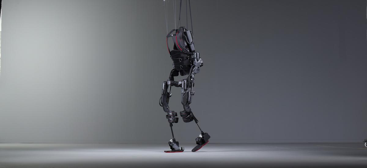 Exoskeleton portrait shot