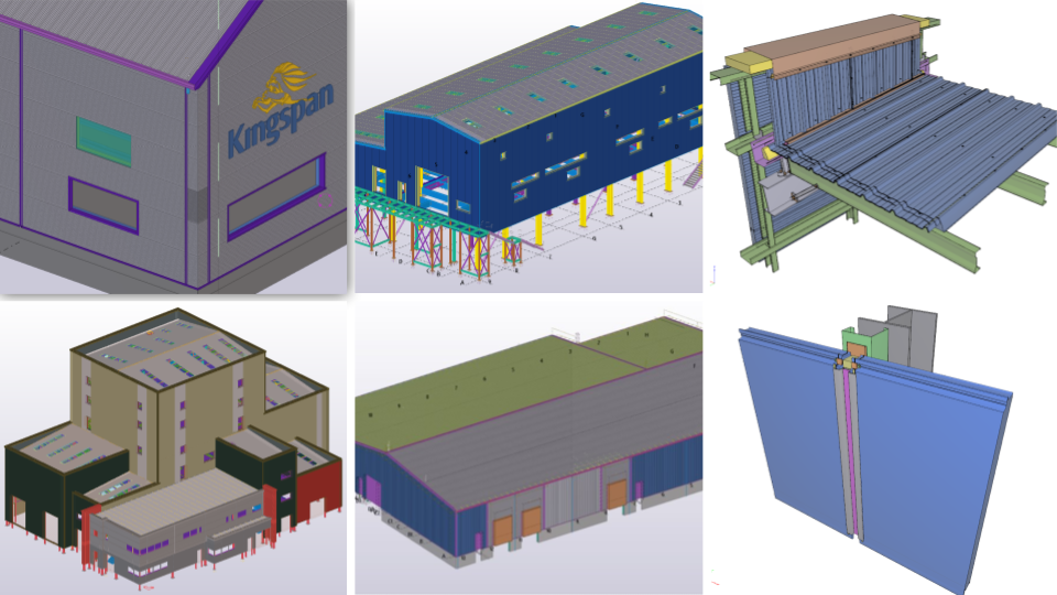Kingspan uses Tekla to detail their 3D models