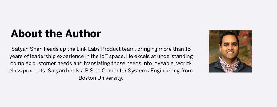 Satyan Shah Link Labs Bio