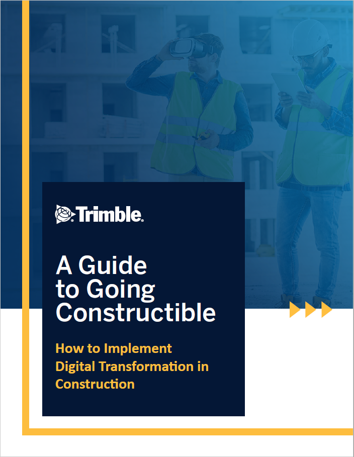A Guide to Going Constructible: How to Implement Digital Transformation in Construction