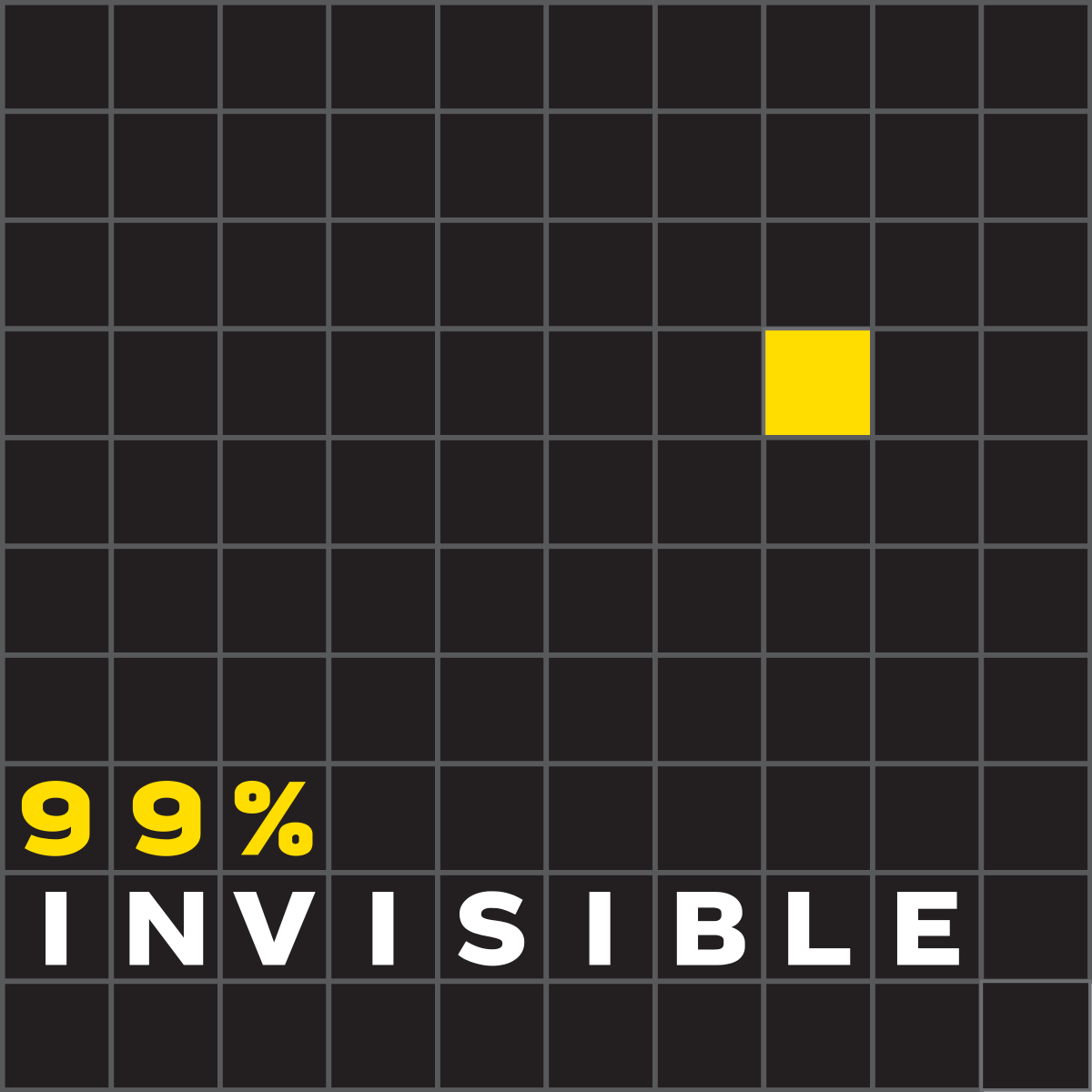 99% invisible podcast cover