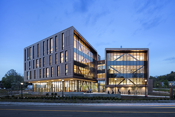 John Oliver Design building on the University of Massachusetts campus