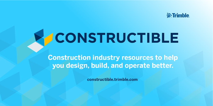 Constructible: Construction Industry Resources logo