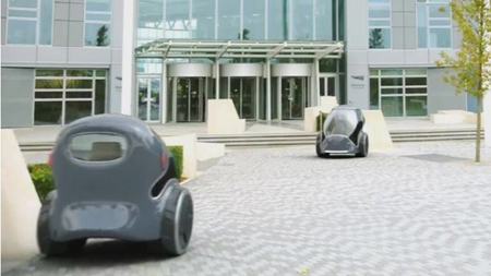 Driverless Cars in Milton Keynes