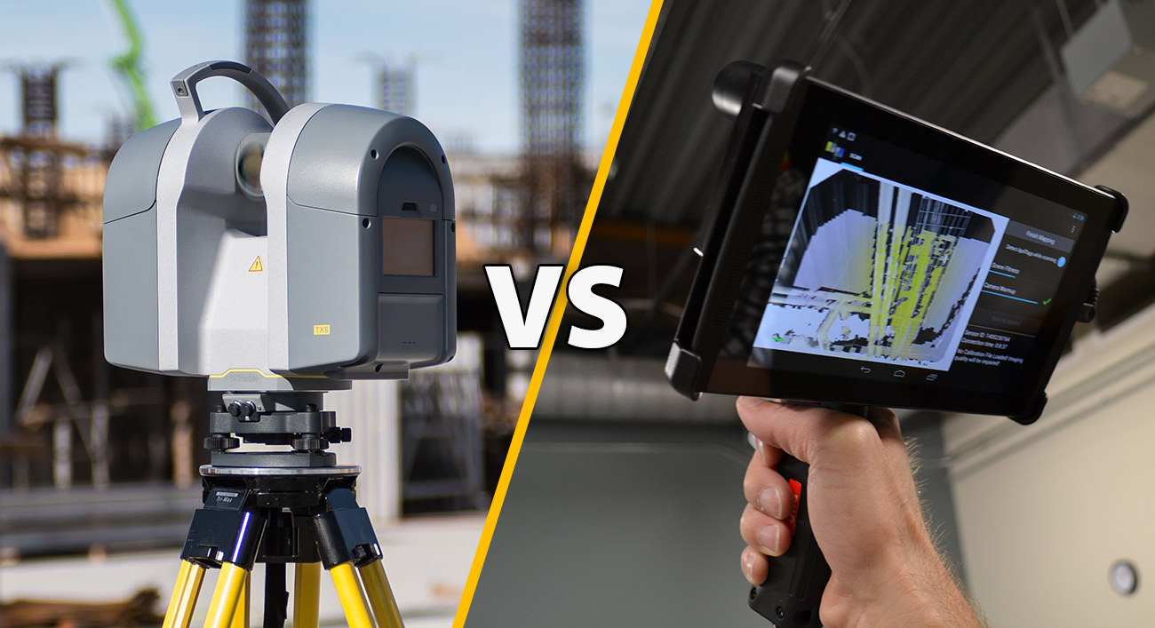 Handheld versus Tripod - Which 3D scanner do you need?