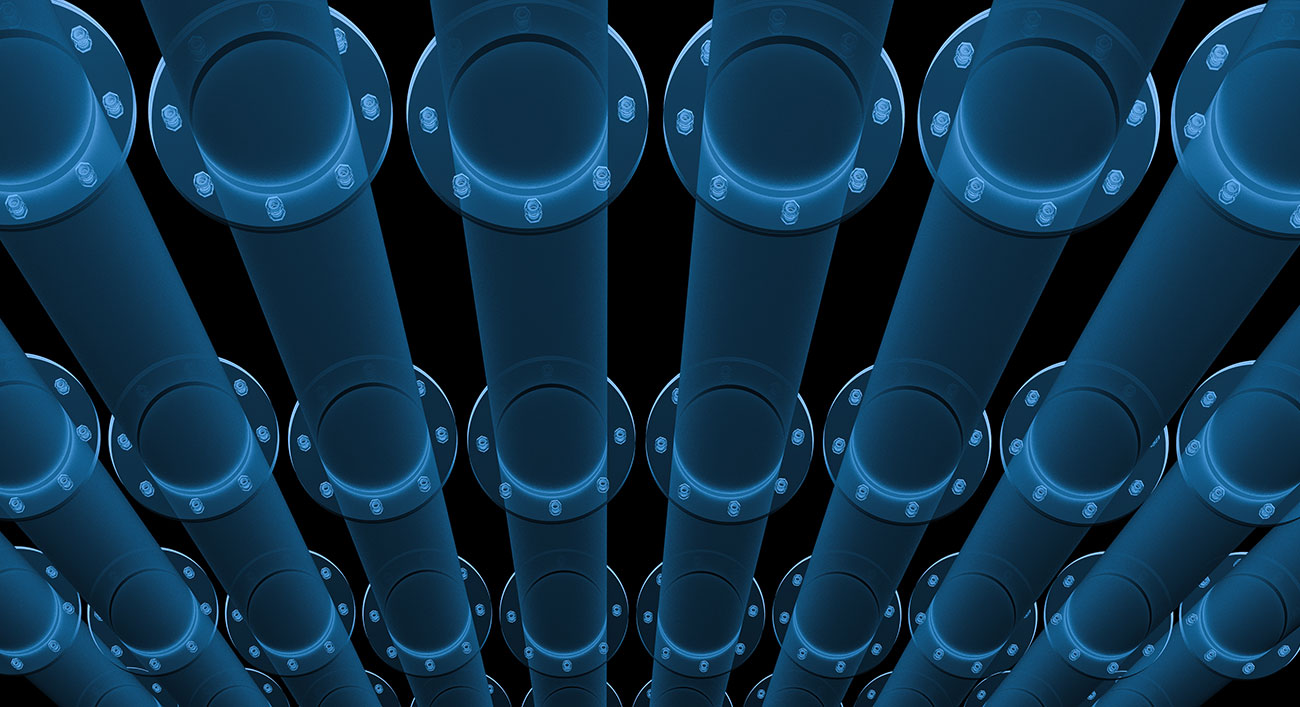 3D Rendered Pipework