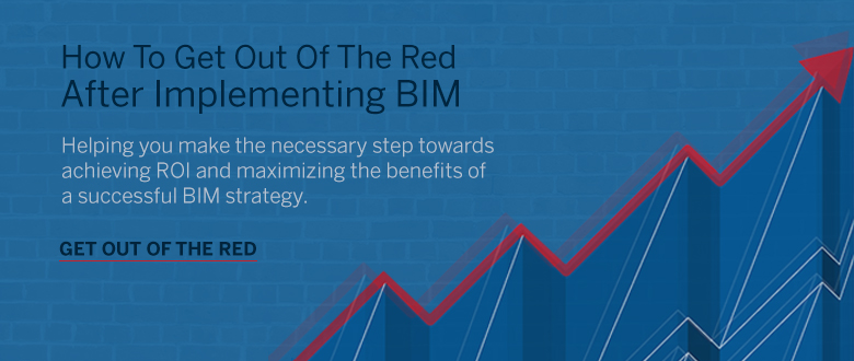 Get out of the red after implementing bim
