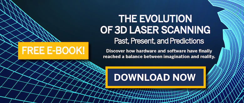 evolution of 3d laser scanning
