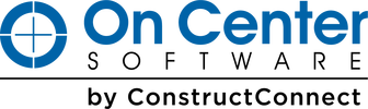 On Center Software by ConstructConnect logo