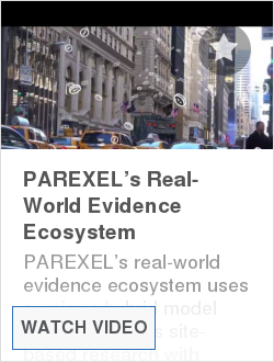 PAREXEL's Real-World Evidence Ecosystem