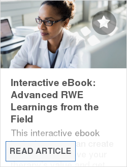 Interactive eBook: Advanced RWE Learnings from the Field